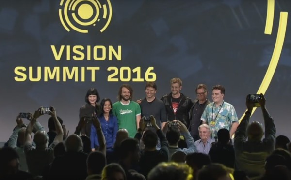 Unity's Vision Summit 2016, while male-dominated, featured women as well, including
