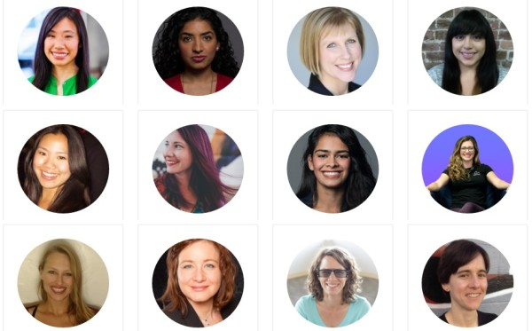 """Virtual reality luminaries at Rothenberg Ventures' """"Cultivating Women in VR"""" event last fall in San Francisco."""