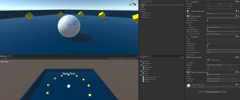 Unity 3d tutorial screen