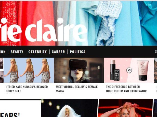 Marie Claire features VR 'female mafia'