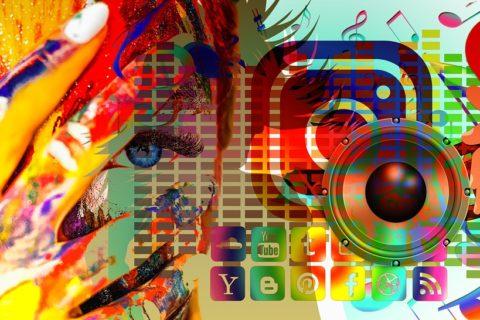 Social media links for WiVR